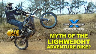 Download MYTH OF THE LIGHT WEIGHT ADVENTURE BIKE?: Adventure Oz Video