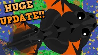 Download MOPE.IO BLACK DRAGON NEW ABILITY!! // Mega T-Rex Glitch & New Eagle (Mopelution Update) Video
