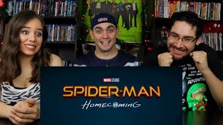Download Spider-Man HOMECOMING - Official AND International Trailer Reaction/Review Video