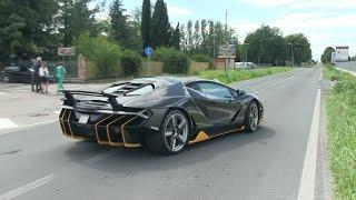 Download The $2.5 Million Lamborghini Centenario Driving on the Road! Video