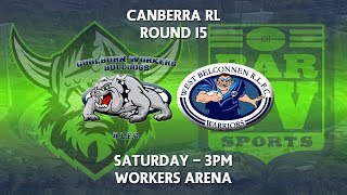 Download 2018 Canberra RL 1st Grade Round 15 - West Belconnen Warriors v Goulburn Workers Bulldogs Video