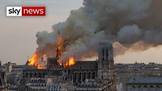 Download Special Report: Notre-Dame in flames Video