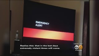 Download Creepy Emergency Broadcast Alert Hints At 'End Of The World' For Saturday Video