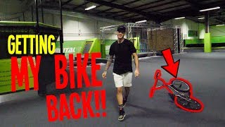 Download *ILLEGAL* GOING BACK TO GET MY BIKE! Video
