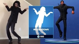 Download BEST OF #BOOGIEDOWN CONTEST || NEW FORTNITE EMOTES Video