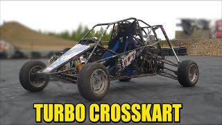 Download Turbo Crosskart - 300hp Hayabusa Turbo Engine Video