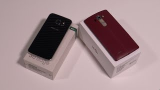 Download مقارنة بين جهاز LG G4 vs Samsung Galaxy S6 Edge Video