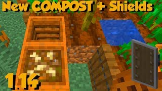 Download A New Block Was Just Added To Minecraft 1.14... Compost??? Video