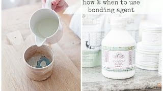 Download using bonding agent with milk paint   miss mustard seed Video