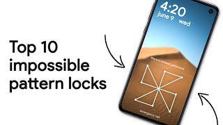 Download Top 10 Impossible Pattern Locks Video