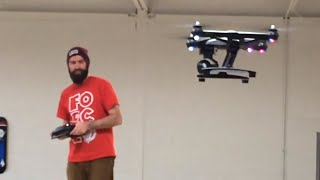 Download GUY DESTROYS DRONE IN 30 SECONDS! Video