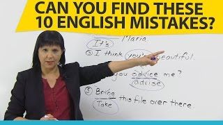 Download Can you find these 10 common English mistakes? Video