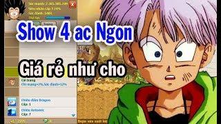 Download Ngọc Rồng Online - Tiếp Tục Show 4 Ac Ngon - Giá Rẻ Như Cho !!! Video