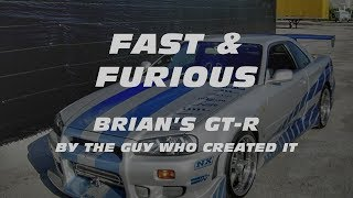 Download FAST & FURIOUS: Brian's GT-R by the guy who created it. Video