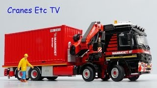 Download WSI Mercedes-Benz Actros Flatbed and Container 'Mammoet' by Cranes Etc TV Video