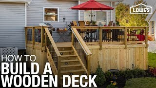 Download Learn How To Build a Deck with Wood | DIY Projects Video