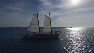Download Schooner IBIS by Reuel Parker Sailing in the Exumas Filmed w/ DJI Phantom Video