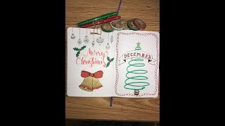 Download December Plan With Me || Christmas!! Monthly Bullet Journal Set Up Video