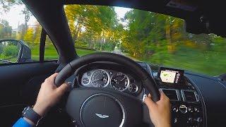Download V12 Exhaust Glory! Aston Martin Rapide S POV Drive. Video