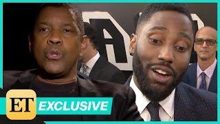 Download Watch Denzel Washington Surprise Son John David With 'Fan Question!' (Exclusive) Video