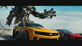 Download Transformers: Dark of the Moon (2011) - Freeway Chase - Only Action [4K] Video