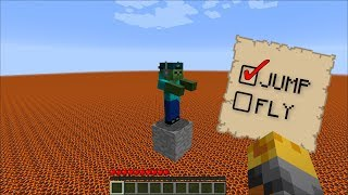 Download Minecraft DON'T JUMP ON THE WRONG BLOCK ON MINECRAFT!! THIS UNFAIR MAP WILL KILL YOU!! Video