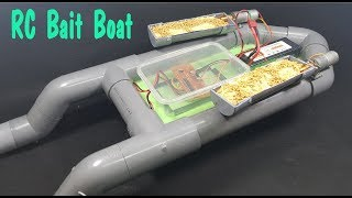 Download How to make RC Bait Boat Using PVC Pipe Video