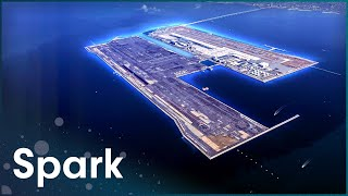 Download This Airport Has Its Own Island | Super Structures | Spark Video