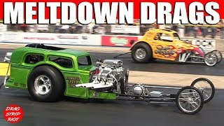 Download 2014 Meltdown Drags Byron Dragway Nostalgia Drag Racing Cars USA Race Video Video