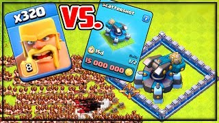 Download EVERY Troop vs. NEW Scattershot! Clash of Clans Town Hall 13 UPDATE Video