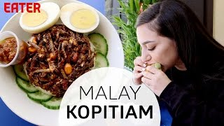 Download Spicy Anchovies and Kaya Toast at New York's Best Malaysian Coffee Shop Video