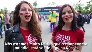 Download Torcedores comemoram a vitória da Rússia em Moscou Video