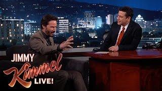 Download Jimmy Kimmel Asks Keanu Reeves Random Questions Video