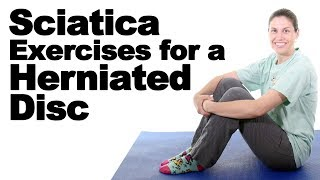 Download 5 Best Sciatica Exercises for a Herniated Disc - Ask Doctor Jo Video