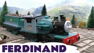 Download Spotlight Ferdinand Trackmaster Thomas & Friends Tomy Takara Misty Island Kids Toy Train Video