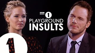 Download Jennifer Lawrence & Chris Pratt Insult Each Other | CONTAINS STRONG LANGUAGE! Video