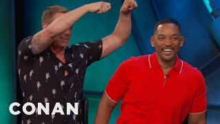 """Download Will Smith's Sensual Hot Water Treatment For His """"Suicide Squad"""" Castmates - CONAN on TBS Video"""