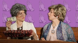 Download Abuelas One Up At A Catholic Mass | mitú Video