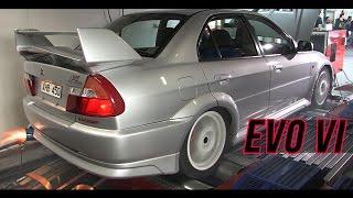 Download Mitsubishi EVO VI dyno Video