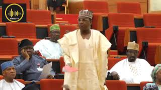 Download Breaking: Sen. Marafa insult and reject INEC committee report, refused to apologise. Video