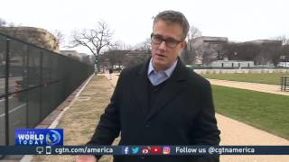 Download Preparations for Trump inauguration in final stages Video