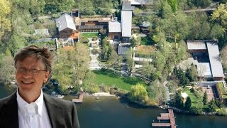 Download 19 Crazy Facts About Bill gates' $125 Million Mansion Video