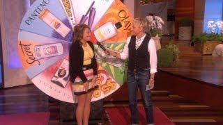 Download Ellen's Wheel of Beauty Video