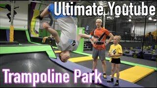 Download Ninja training at the trampoline park (With Stephen Sharer & Ninja Kidz tv!!!) Video