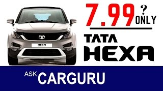 Download TATA HEXA Pricing leaked, ask CARGURU about fact & Truth.. Video