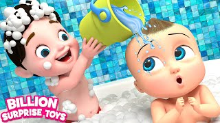 Download TWINS BABIES Bathing Song - 3D Animation Songs for Children Video