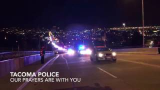 Download Tacoma Police Department Procession Video