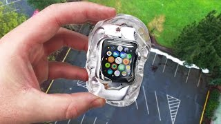 Download Can Liquid Glass Putty Protect Apple Watch 2 from 100 FT Drop Test? Video