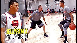 Download Steph Curry x JellyFam Jahvon Quinerly Getting BETTER! Workout Drills & Scrimmage at #SC30Select Video
