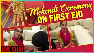 Download Dipika Kakar MEHENDI CEREMONY On First EID | Live Chat Video